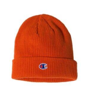CS4003 Champion ribbed knit cap