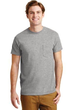 8300 gildan-dryblend 50 cotton/50 poly pocket t-shirt