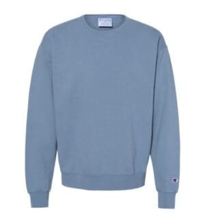 CD400 Champion garment dyed crewneck sweatshirt