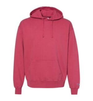 CD450 Champion garment dyed hooded sweatshirt