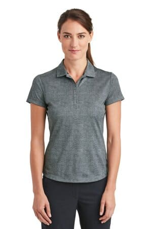 nike ladies dri-fit crosshatch polo 838961
