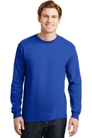8400 gildan-dryblend 50 cotton/50 poly long sleeve t-shirt