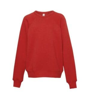 3901Y Bella  canvas youth sponge fleece crewneck sweatshirt