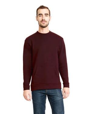 Next level 9001 unisex santa cruz pocket sweatshirt