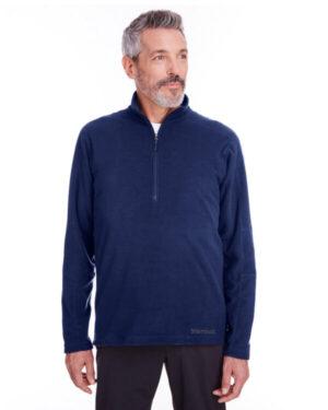 Marmot 901076 men's rocklin fleece half-zip