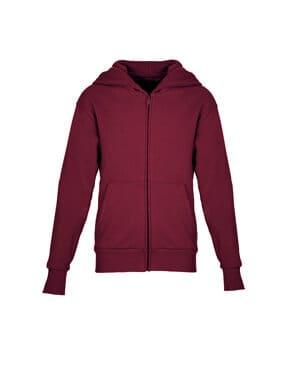 Next level 9103 youth santa cruz full-zip hooded sweatshirt