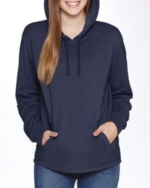 Next level 9300 adult malibu welt pocket hooded sweatshirt