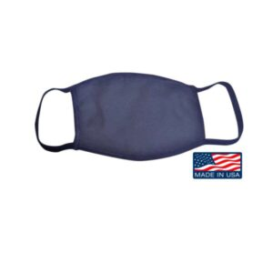 Bayside USA-Made 100% Cotton Face Mask