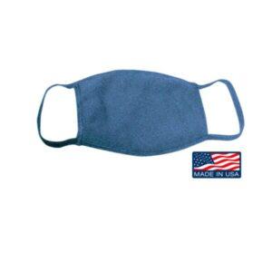 Bayside USA-Made 100% Cotton Face Mask
