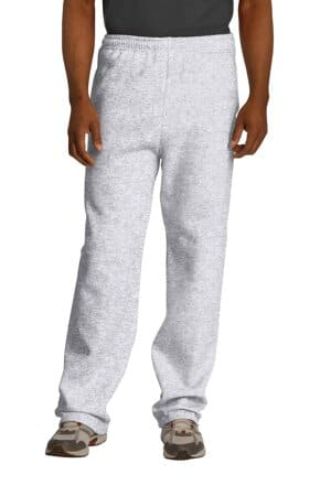 jerzees nublend open bottom pant with pockets 974mp