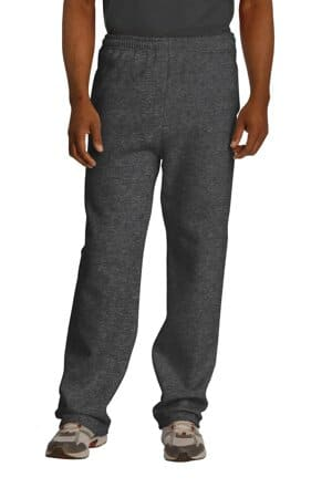 974MP jerzees nublend open bottom pant with pockets