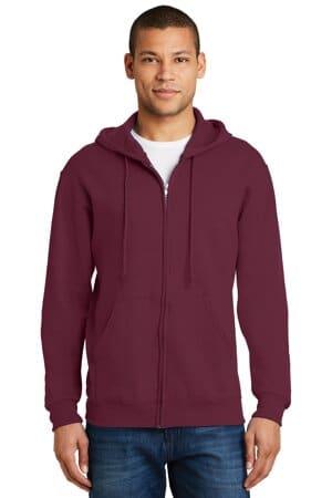 993M jerzees-nublend full-zip hooded sweatshirt