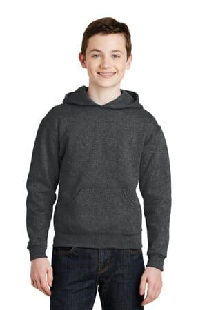 jerzees-youth nublend pullover hooded sweatshirt 996y
