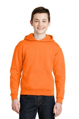 jerzees-youth nublend pullover hooded sweatshirt 996y