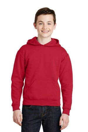 996Y jerzees-youth nublend pullover hooded sweatshirt