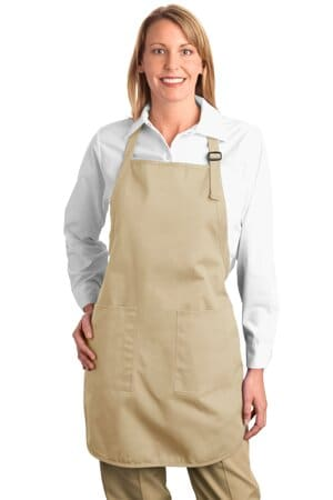port authority full-length apron with pockets a500