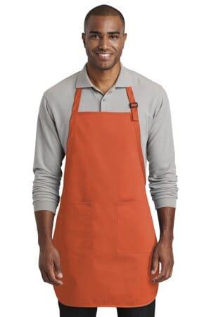 A600 port authority full-length two-pocket bib apron