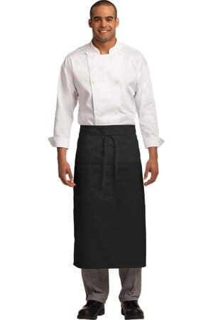 port authority easy care full bistro apron with stain release a701