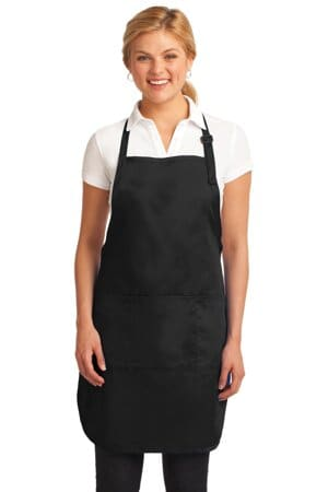 port authority easy care full-length apron with stain release a703