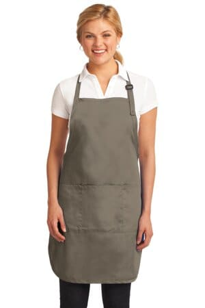 A703 port authority easy care full-length apron with stain release