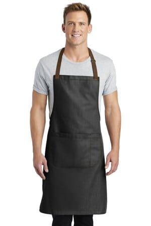 A800 port authority market full-length bib apron a800