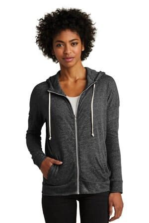 alternative women's eco-jersey cool-down zip hoodie aa2896