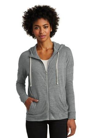 AA2896 alternative women's eco-jersey cool-down zip hoodie