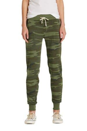 alternative women's jogger eco-fleece pant aa31082