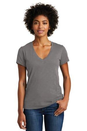 alternative women's weathered slub so-low v-neck tee aa6097