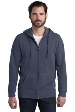 alternative indy blended fleece zip hoodie aa8050