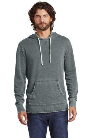 AA8629 Alternative apparel alternative burnout schoolyard hoodie aa8629