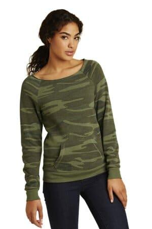 alternative women's maniac eco-fleece sweatshirt aa9582