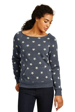 alternative women's maniac eco-fleece sweatshirt aa9582