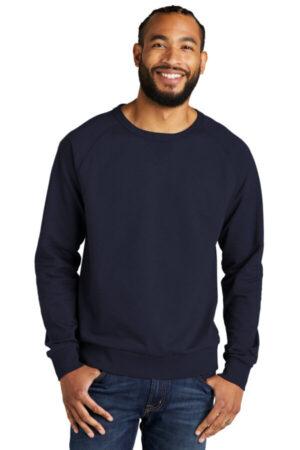 AL4004 allmade unisex organic french terry crewneck sweatshirt
