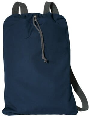 B119 port authority canvas cinch pack b119