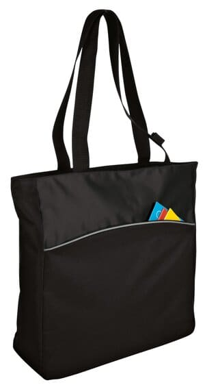 B1510 port authority-two-tone colorblock tote b1510