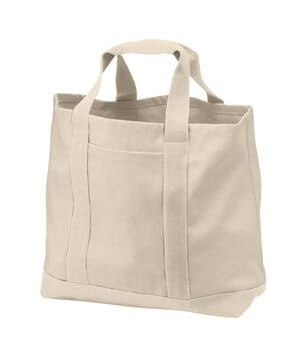 B400 port authority-two-tone shopping tote