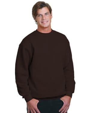 adult 95 oz, 80/20 heavyweight crewneck sweatshirt