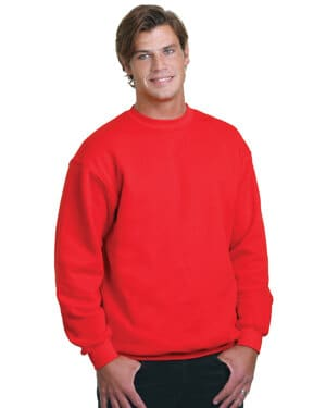 BA1102 adult 95 oz, 80/20 heavyweight crewneck sweatshirt