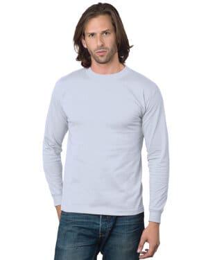 BA2955 Bayside adult 61 oz, cotton long sleeve t-shirt
