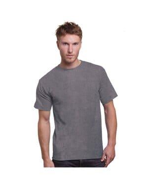BA3015 Bayside adult 61 oz, cotton pocket t-shirt