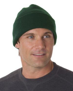 BA3825 Bayside 100% acrylic knit cuff beanie