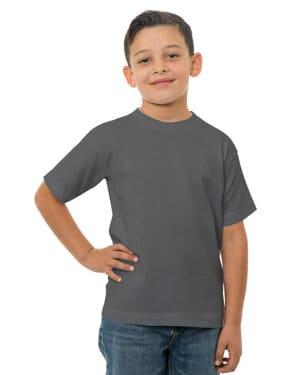 Bayside BA4100 youth 61 oz, 100 % cotton t-shirt