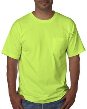 BA5070 Bayside adult short-sleeve t-shirt with pocket