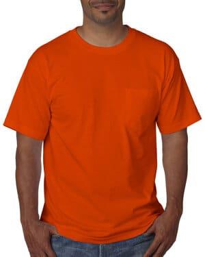 BA5070 Bayside adult short-sleeve t-shirt with pocket