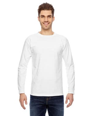 BA6100 Bayside adult 61 oz, 100% cotton long sleeve t-shirt