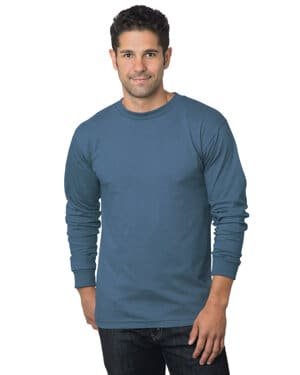 BA6100 adult 61 oz, 100% cotton long sleeve t-shirt
