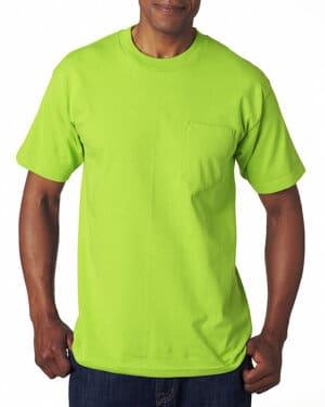 BA7100 Bayside adult 61 oz, 100% cotton pocket t-shirt