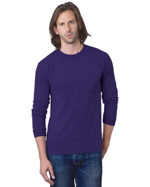 adult 61 oz, 100% cotton long sleeve pocket t-shirt