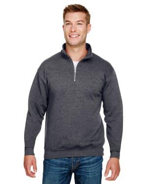 BA920 unisex 95 oz, 80/20 quarter-zip pullover sweatshirt